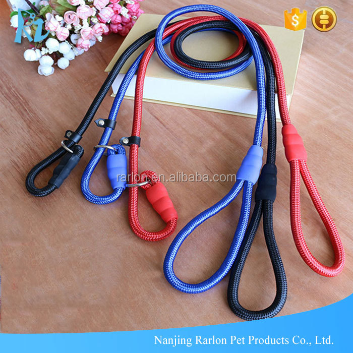 Durable Nylon Slip Training Traction Rope Pet Dog Leash