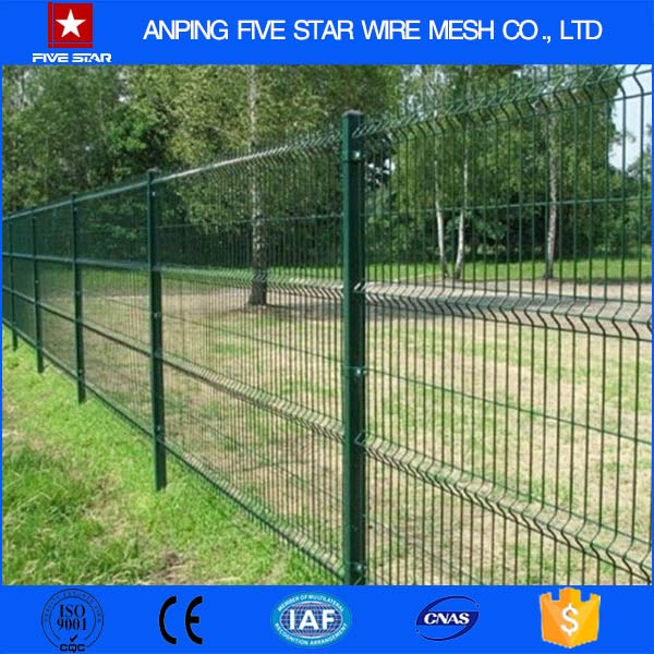 PVC Coated Metal Fence Pillar/High Quality Metal Fence Post