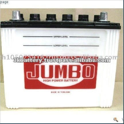 Thailand High Quality 12 Volt 60AH Car Battery