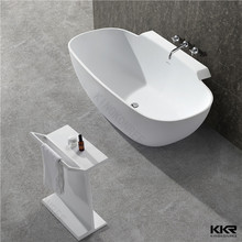 Artificial stone soaking container for bathroom