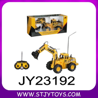 Newly arrival 2014 1:10 6CH RC truck digger rc truck remote