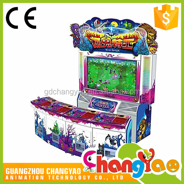 Amusement Park Fish Hunter Coin Operated Electronic Attractive Gaming Machine