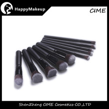 Professional Super Soft High Quality 10pcs Synthetic Hair Face Off Makeup Tool Kit