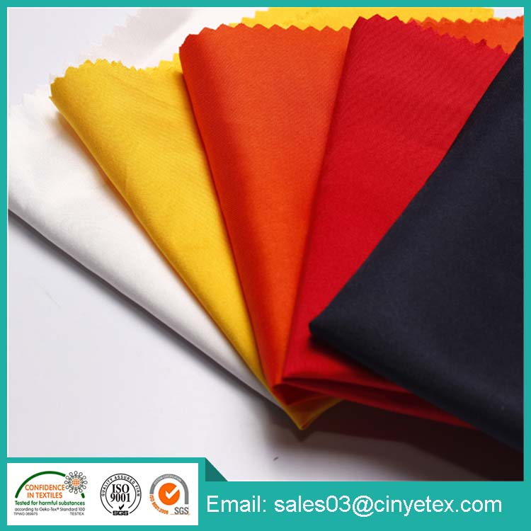 T/C twill 90/10 polyester and cotton fabric