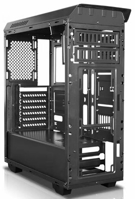 Cheap ATX MID Tower Gaming Computer Case with Liquid Cooling System