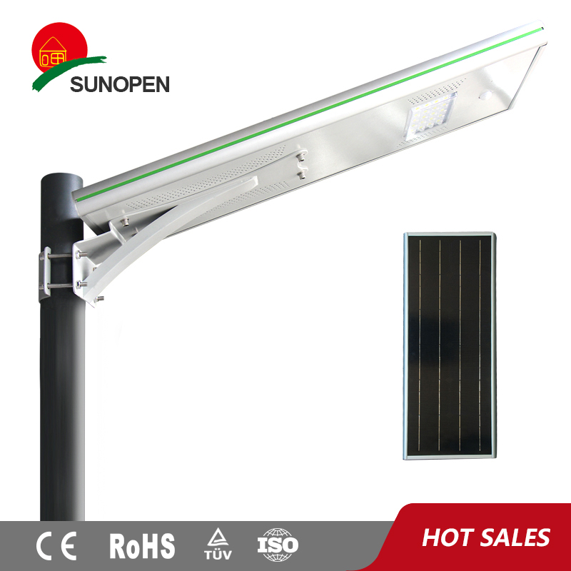Outdoor 18W Solar All in one led light mirror touch sensor switch
