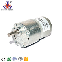 37mm dc gear motor 12v 24v 100 rpm