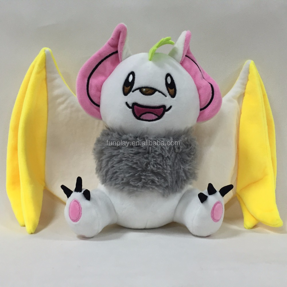 HI CE/ASTM safety wholesale cheap custom made monster cat plush toy