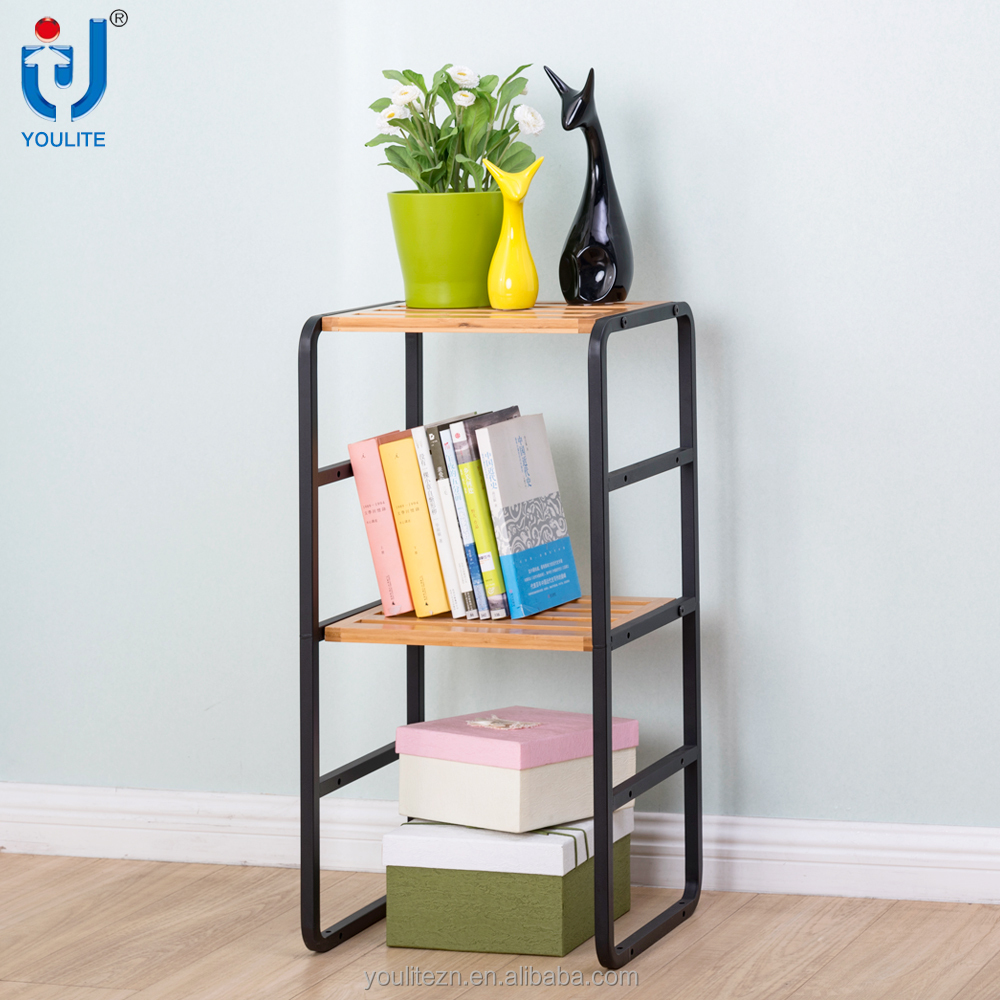 High quality two layer houseware metal storage rack