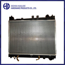 Aluminum brazed welding radiator for truck