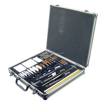 62 piece aluminum case gun cleaning brush Universal Aluminum Gun Care Case