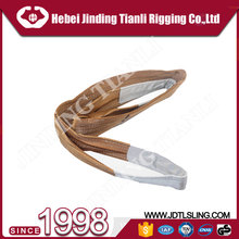 China Supplier Heavy duty 4 ply web slings