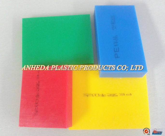 Low Density HDPE Polyethylene PE Sheet For Food Safe Chemical Industries