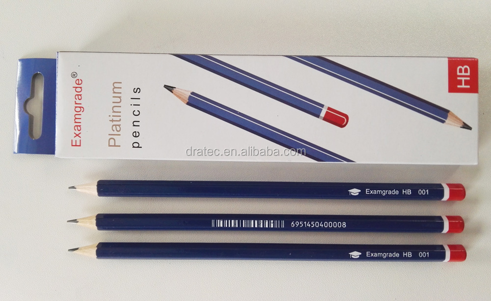 High quality drawing pencils 4H-8B, wooden pencils set