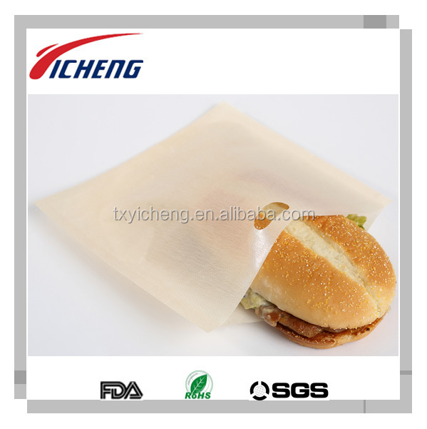 As Seen on TV Product - PTFE Reusable Toaster Bag, Set of Two, Sandwich and Bread Bag