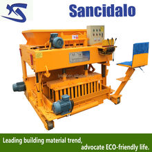 QT6-25 Promoted!!! concrete low investment block making machine brick machine