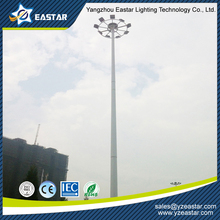 15m~45m height customized high mast light with lifting system