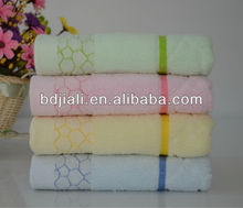2016 hot sale popular 100% cotton baby bath towel