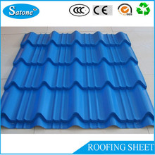 2016 new products colored steel roof tiles beautiful roof design for villa