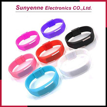 Waterproof Fashion Silicone Jelly Candy Wrist Watch