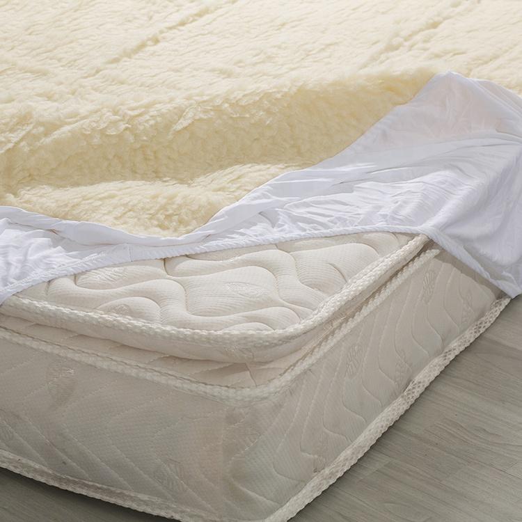 mattress manufacturer wholesale high quality super soft wool flocking mattress cover - Jozy Mattress | Jozy.net