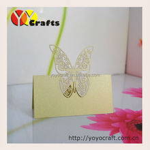 Wedding Table Place Name Cards Wedding Festive Laser Cutting Fly Butterfly Table Seating Card