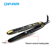 DFAM Top 10 hair straightener latest invention waterproof flat iron
