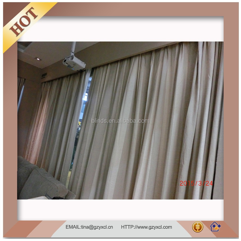 Curtain Design Motorized Window Curtains For Living Room