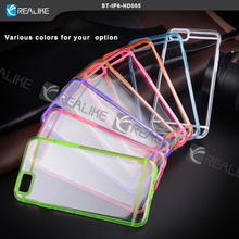 Oem design various colors PC+TPU phone case for iphone 6s