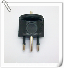 euro 3 pin schuko plug travel charger plug adapter euro to swiss adapter plug