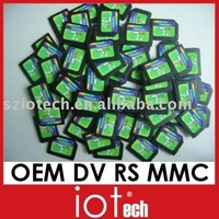 OEM DV RS MMC card