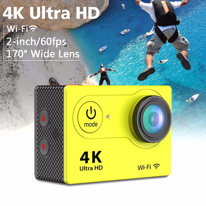 2016 china wifi action camera/4k digital sports camera waterproof