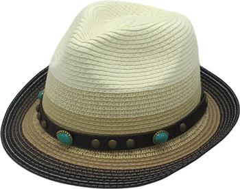 Cool Fedora Hat Paper Braid 2''brim Fashion Hat