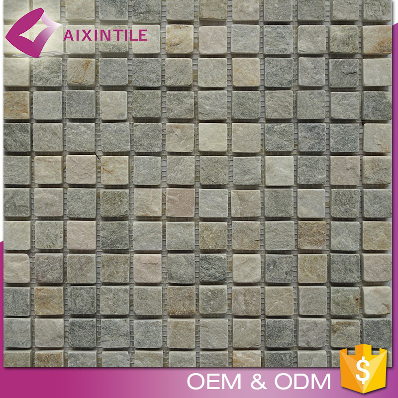 Chinese Factory Price Square Small Particles Mosaic Marble Tiles