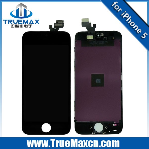 100% Original for iPhone 5 LCD Screen, for iPhone 5 LCD With Screen