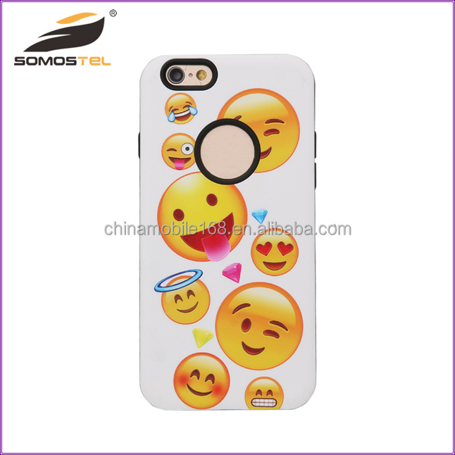 [somostel]Wholesale Cheap Soft Clear TPU Funny Classic Emoji Mobile Phone Case for iphone X/8/8 plus case