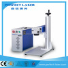 Fast speed desktop fiber laser marking machine animal ear tag laser marking machine