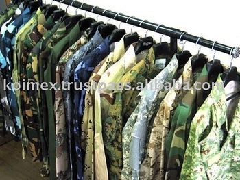 Military Uniforms and camouflage uniform
