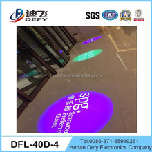 Four images model 40W Logo Rotating or Stationary LED Projector Light