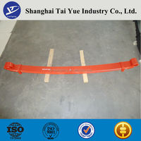 Trailer and truck spare Parts cheap leaf springs with bushings for sale
