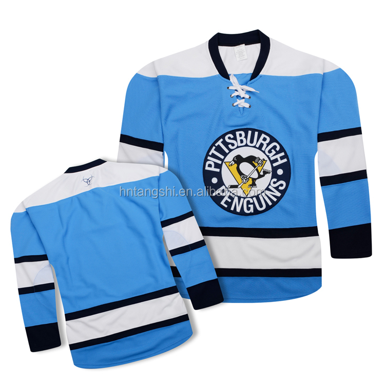 Youth Pittsburgh Penguins Ice Hockey Wear Hockey Jersey NHL