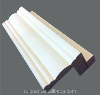 interior flat primed wood door jambs