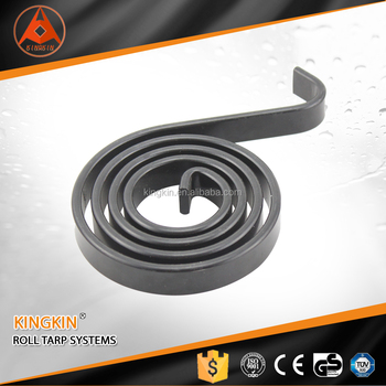 Spiral Torsion Spring for truck tarp system