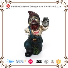 2015 wholesale halloween holiday polyresin zombie decoration