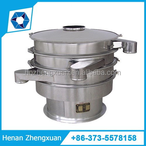 Stainless steel round vibration sieve sifter separator for coffee bean