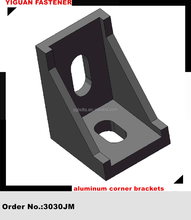 3030JM aluminum right angle corner brackets