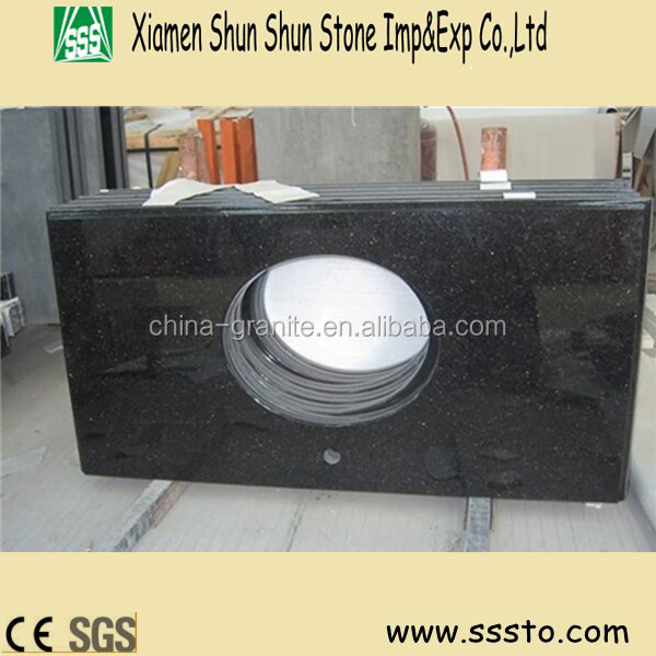 Black Granite Countertops Price : Black Granite Countertop Meter Price For Bathroom,Hotel - Buy Granite ...
