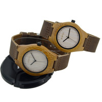 Hotselling Eco friendly fashion green maple wood watch