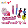 2017 Kids nail polish make up set toy for party dressing cosmetic