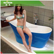 Hot sale corner bath/bathroom furniture/bath tub with lcd TV